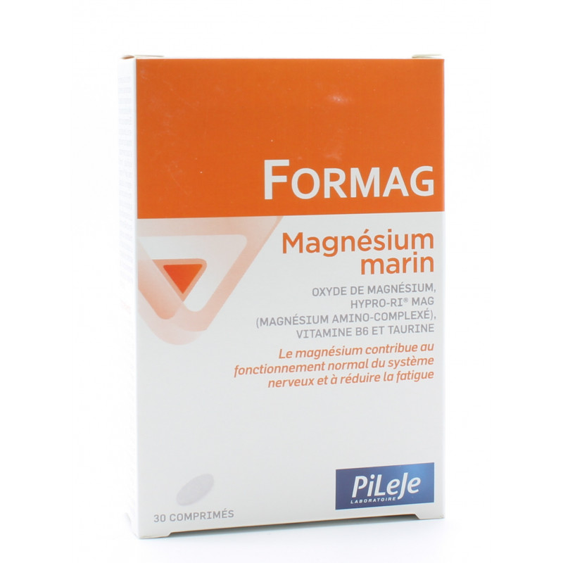 PiLeJe Formag Magnésium Marin 30 comprimés
