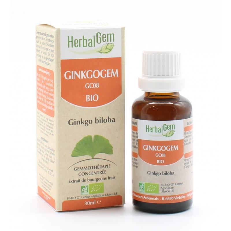 HerbalGem Ginkgogem GC08 Bio 30ml