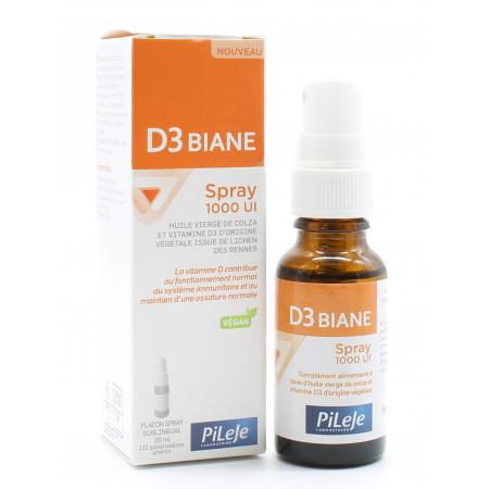 PiLeJe D3 Biane Spray 1000 UI 20ml