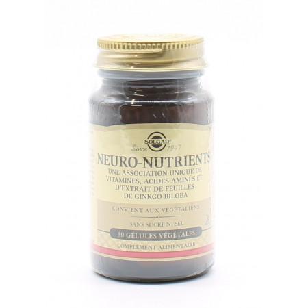 Solgar Neuro-nutrients 30 gélules