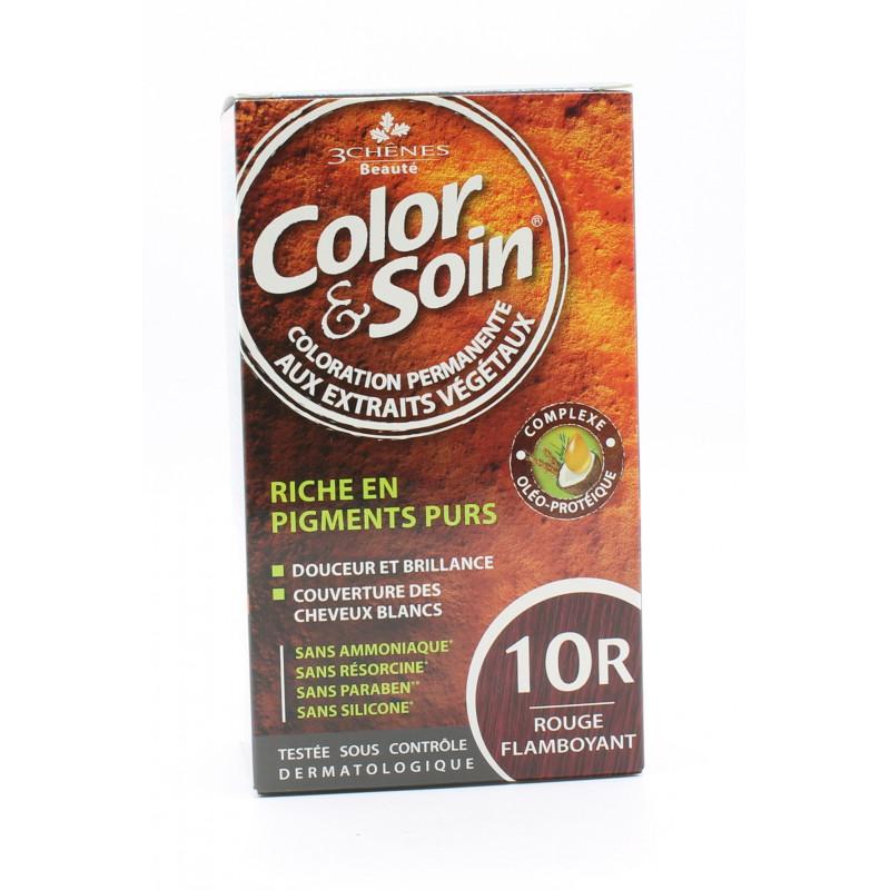 3 Chênes Color&Soin Coloration Permanente 10R Rouge Flamboyant