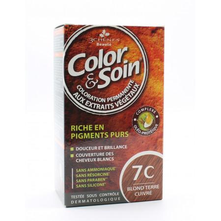 3 Chênes Color&Soin Coloration Permanente 7C Blond...