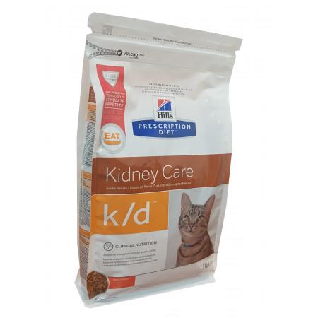 Hill's Prescription Diet Croquettes Kidney Care Poulet K/D 1,5kg