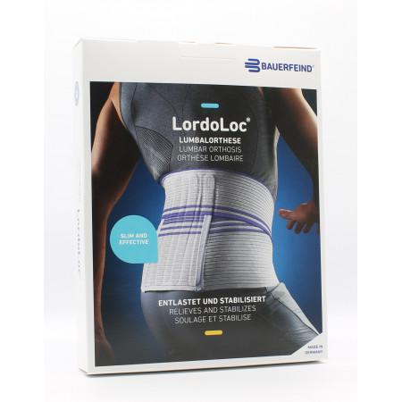 Bauerfeind LordoLoc Orthèse Lombaire Taille 4