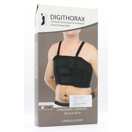Digithorax Ceinture Thoracique & Cardiaque Taille 2 H25cm