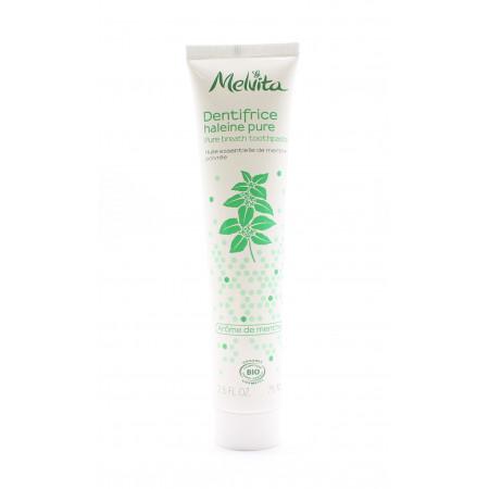 Melvita Dentifrice Haleine Pure Arôme de Menthe Bio 75ml