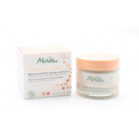 Melvita Nectar de Miel Baume Confort Haute Nutrition Visage 50ml