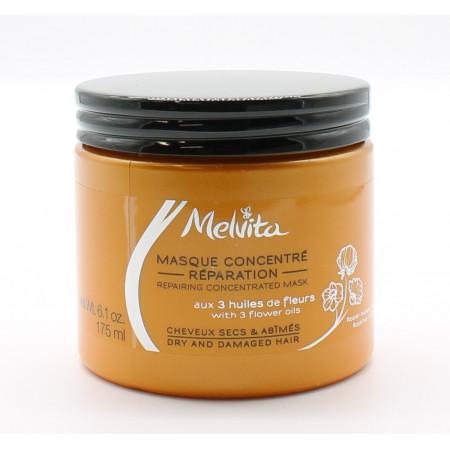 Melvita Masque Concentré Réparation Cheveux Secs & Abîmés 175ml