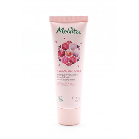 Melvita Nectar de Roses Masque Hydratant Désaltérant 50ml