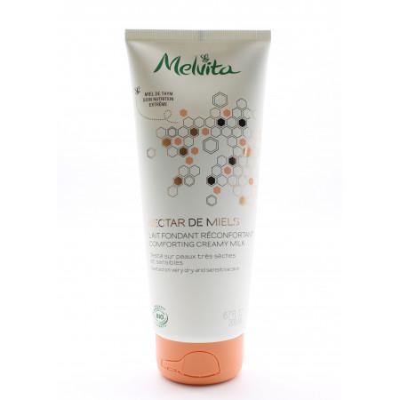 Melvita Nectar de Miel Lait Fondant Réconfortant Bio 200ml