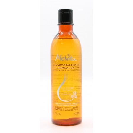 Melvita Shampooing Expert Réparation Cheveux Secs & Abîmés 200ml