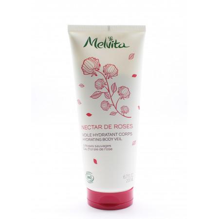 Melvita Nectar de Roses Voile Hydratant Corps Bio 200ml