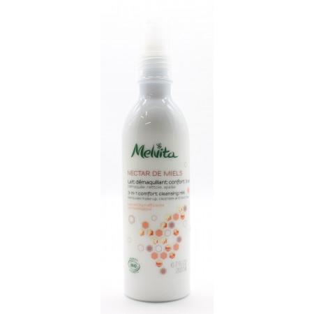Melvita Nectar de Miels Lait Démaquillant Confort 3en1 Bio 200ml