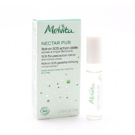 Melvita Nectar Pur Roll-on SOS Action Ciblée 5ml