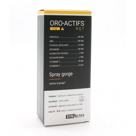 SynActifs ORO ACTIFS Spray Gorge 15ml