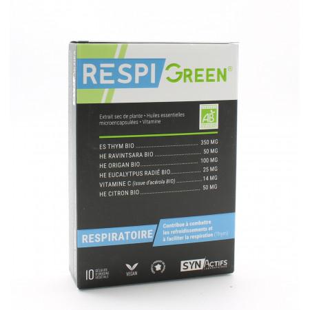 SynActifs RespiGreen 10 gélules