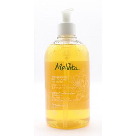 Melvita Shampooing Soin Douceur Miel de Fleurs & Fleur d'Oranger Bio 500ml
