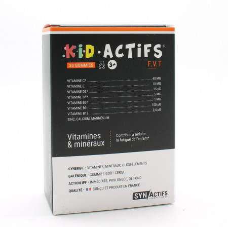 SynActifs KidActifs 30 gummies
