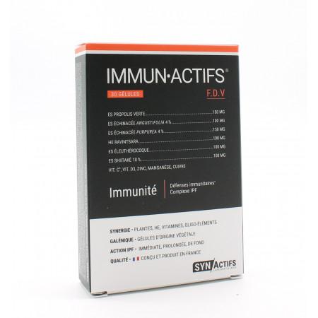 SynActifs ImmunActifs 30 gélules