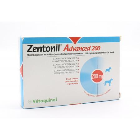 Zentonil Advanced 200 30 comprimés