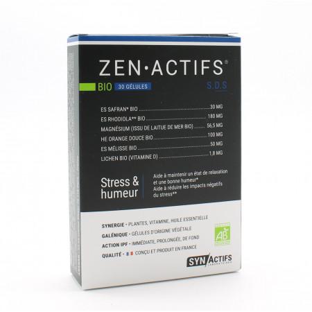 SynActifs ZenActifs Bio 30 gélules