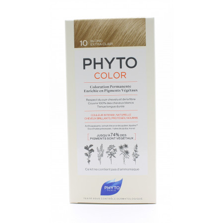 Phyto Color Kit Coloration Permanente 10 Blond Extra Clair