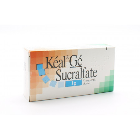 Kéal Gé Sucralfate 1g 30 comprimés
