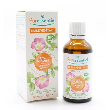 Puressentiel Huile Végétale Bio Rose Musquée 50ml