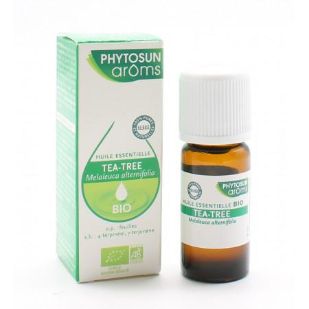 Huile Essentielle Tea Tree Bio Phytosun Aroms 10 ml