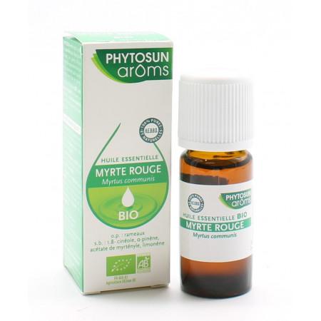Phytosun Arôms Huile Essentielle Myrte Rouge Bio 10ml