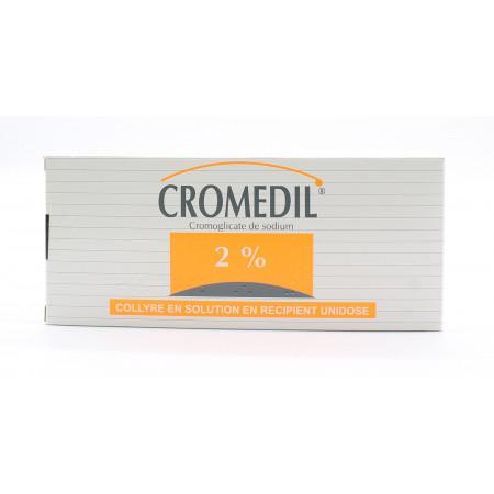 Cromedil 2% Collyre Unidoses X30