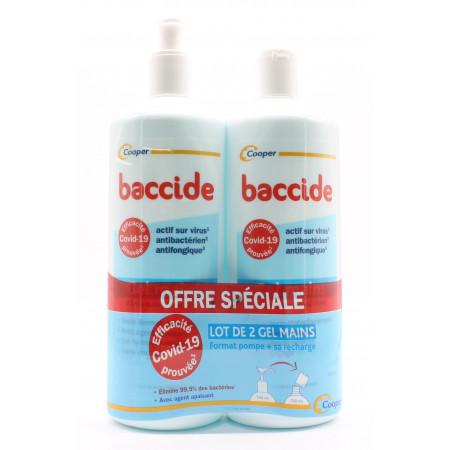 Baccide Gel Mains 2X750ml