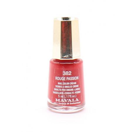 Mavala 382 Rouge Passion Vernis à Ongles 5ml