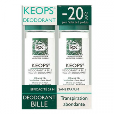 Déodorant-bille KEOPS 2X30 ml