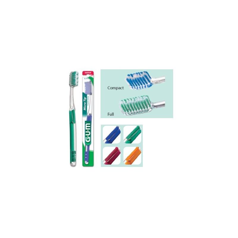 Brosse à Dents Souple GUM Micro Tip Compact 471 Sunstar
