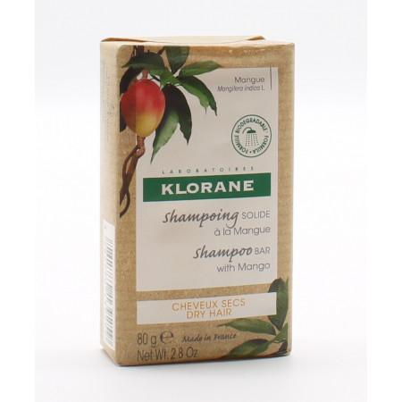 Klorane Shampooing Solide à la Mangue 80g
