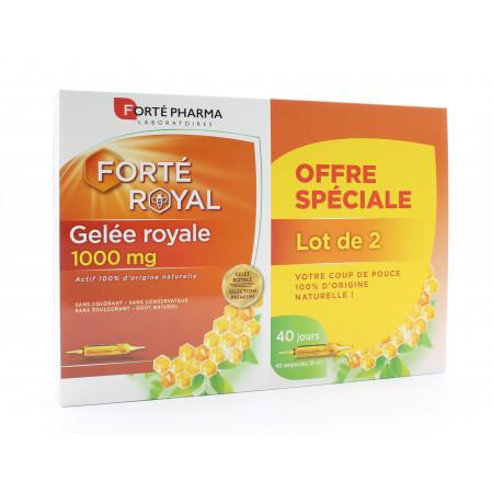 Forté Pharma Forté Royal Gelée Royale 1000mg 2X20 ampoules