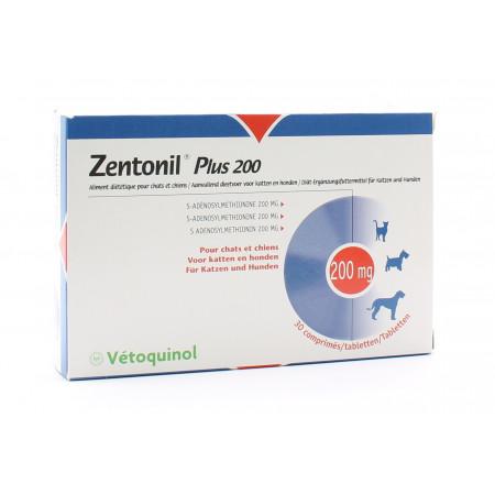 Zentonil Plus 200 Chats et Chiens 30 comprimés
