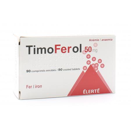 TimoFerol 50mg 90 comprimés