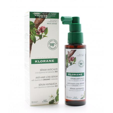 Klorane Sérum Antichute Quinine & Edelweiss Bio 100ml