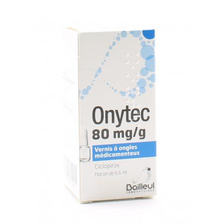 Onytec 80mg/g Vernis à Ongles Médicamenteux 6,6ml