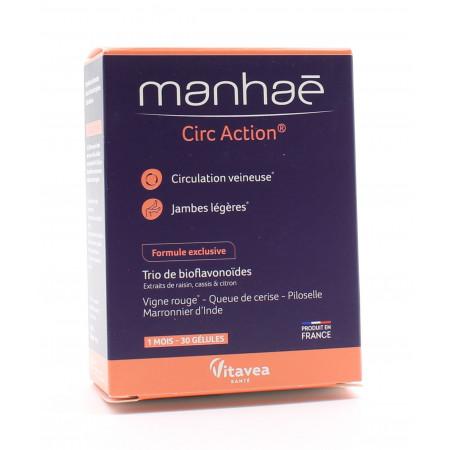 Manhaé Circ Action 30 gélules