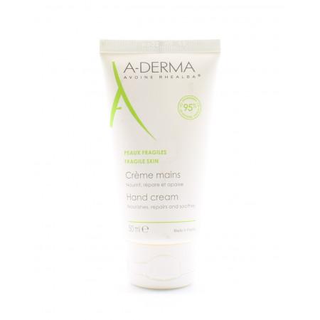 A-Derma Crème Mains Peaux Fragiles 50ml
