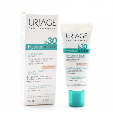 Uriage Hyséac 3-Regul Soin Global Teinté SPF30 40ml