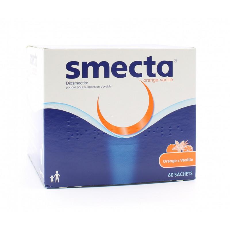 Smecta Orange Vanille 60 sachets