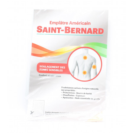 Saint-Bernard Emplâtre Américain X1 - Univers Pharmacie
