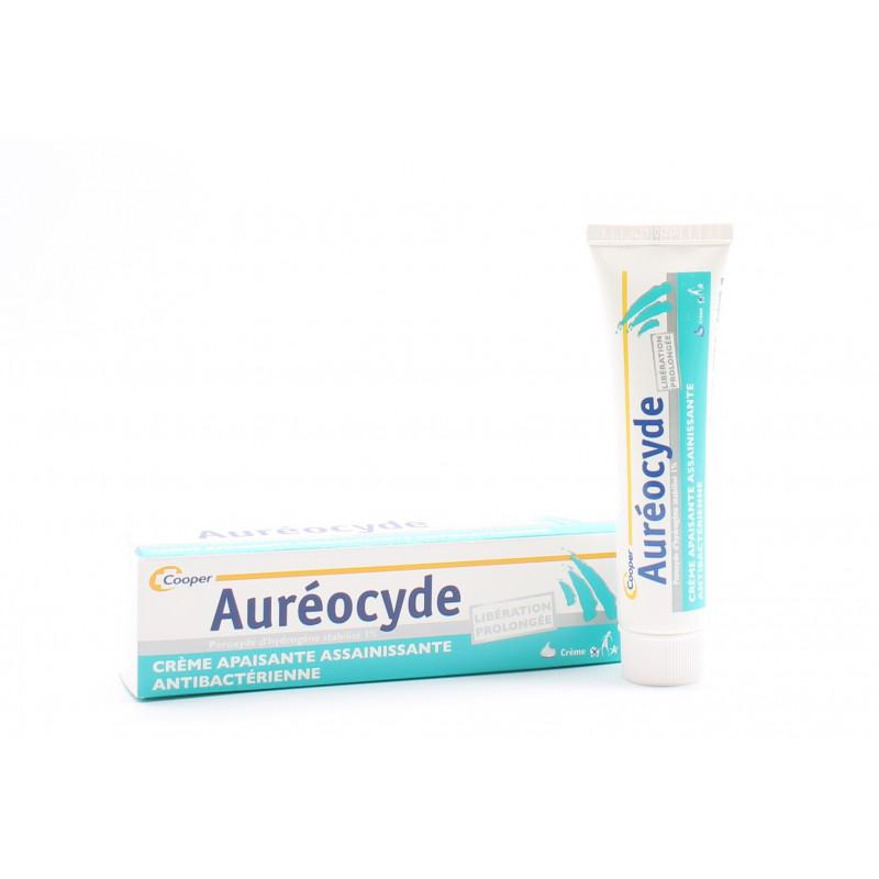 Cooper Auréocyde Crème 15g - Univers Pharmacie