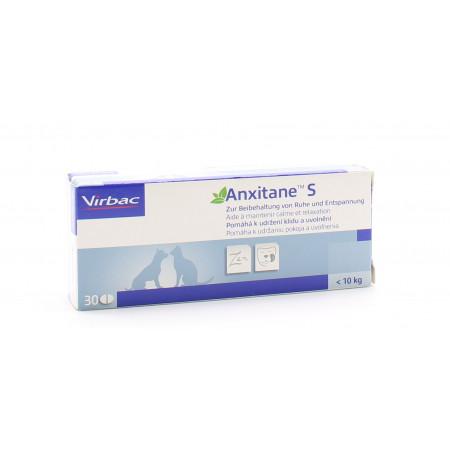 Virbac Anxitane S Petit Chien et Chat 30 comprimés - Univers Pharmacie