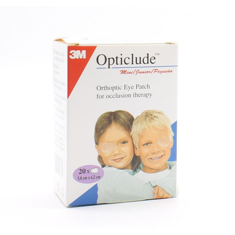 3M Opticlude Pansements Orthoptiques pour Enfants 6cmX5cm X20 - Univers Pharmacie
