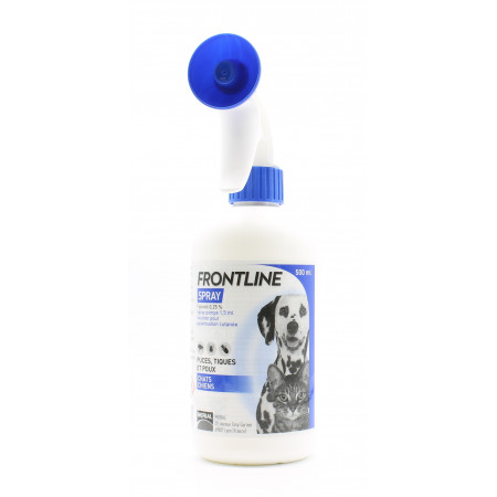 Frontline Spray Chats Chiens 500ml - Univers Pharmacie